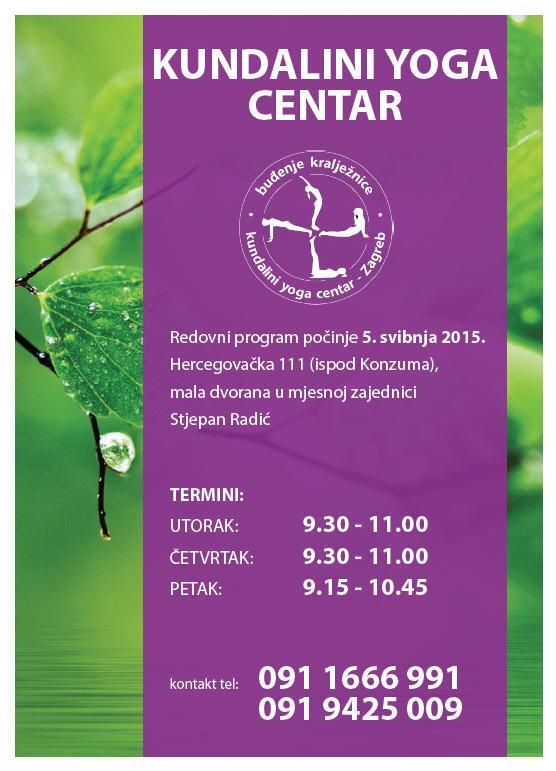 Plakat Kundalini Yoga Centar